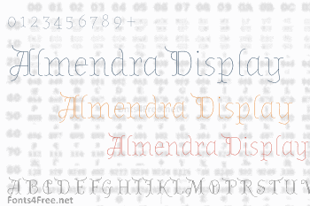 Almendra Display Font