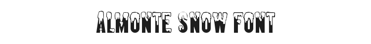 Almonte Snow Font Preview