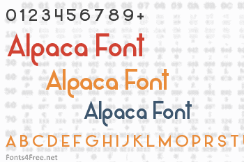 Alpaca Font