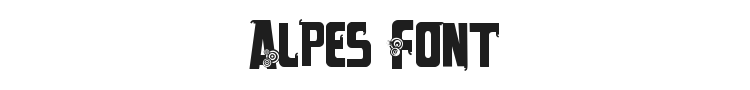 Alpes Font Preview