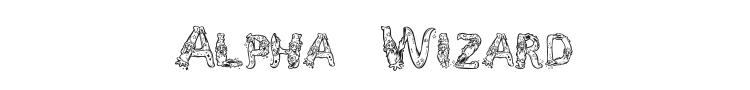 Alpha Wizard Font