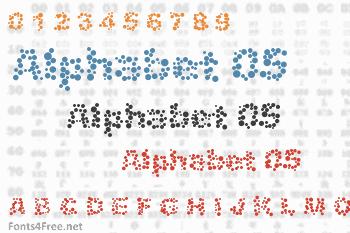 Alphabet 05 Font