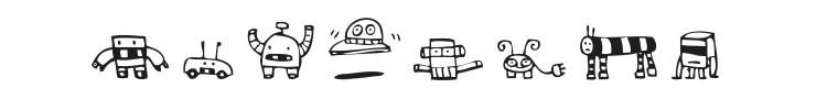 Alphabots Font Preview
