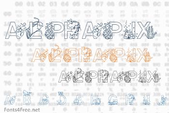 Alphapix Font