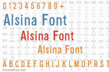 Alsina Font