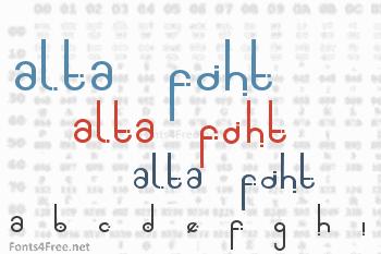 Alta Font