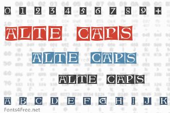 Alte Caps Font
