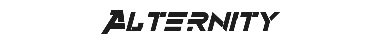 Alternity Font