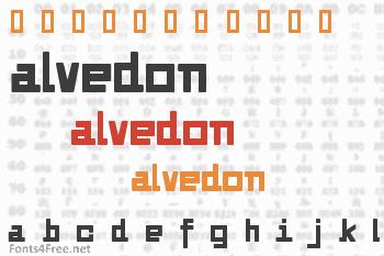 Alvedon Font