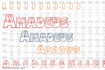 Amadeus Font