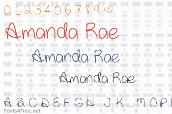 Amanda Rae Font