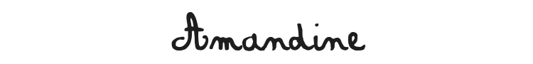 Amandine Font Preview