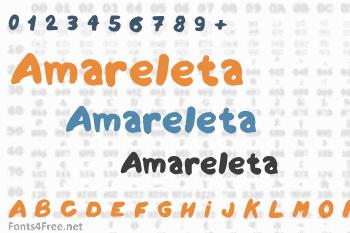Amareleta Font
