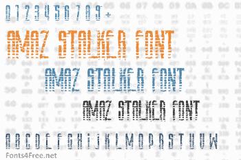 Amaz Stalker Font