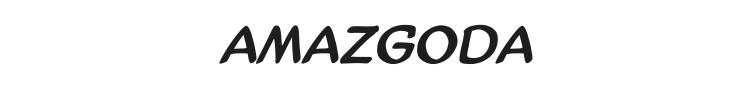 AmazGoDa Font Preview