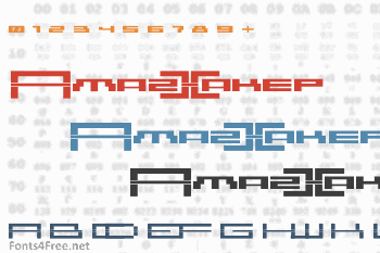 AmazXakep Font