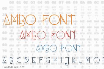 Ambo Font