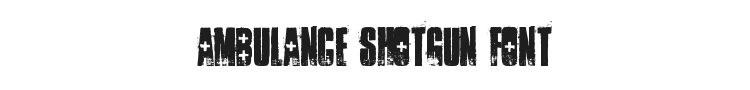 Ambulance Shotgun Font Preview