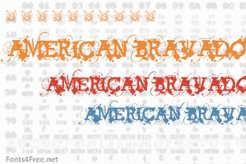 American Bravado Font