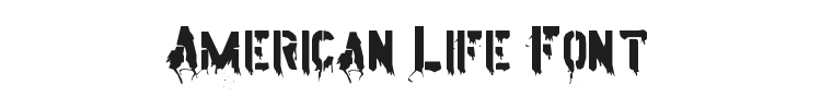 American Life Font Preview