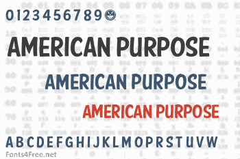 American Purpose Casual Font