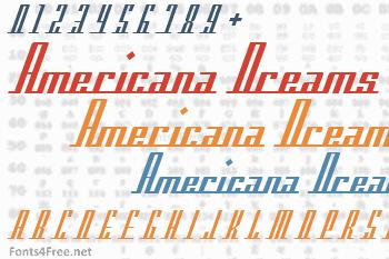 Americana Dreams Font