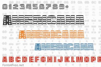 Americana Font
