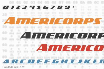 Americorps Font