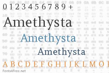 Amethysta Font