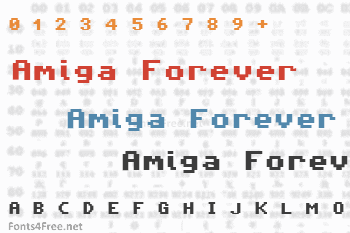 Amiga Forever Font
