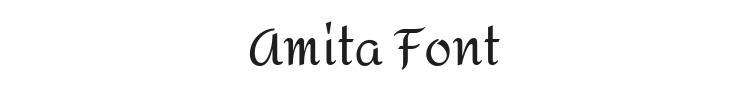 Amita Font Preview