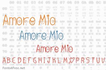 Amore Mio Font