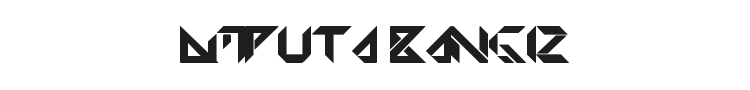 Amputa Bangiz Font Preview