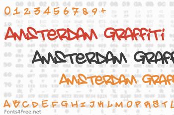 Amsterdam Graffiti Font