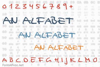 An Alfabet Font