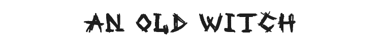 An Old Witch Font Preview
