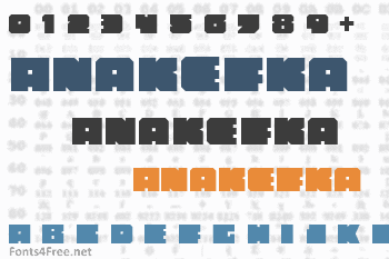 Anakefka Font