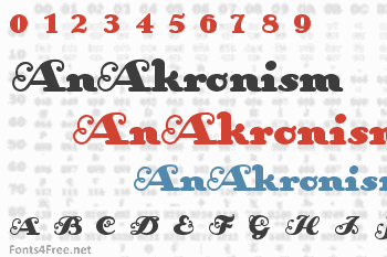 AnAkronism Font