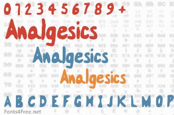 Analgesics Font