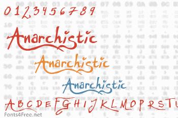 Anarchistic Font