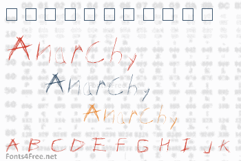 Anarchy Font