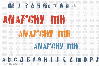 Anarchy Mh Font