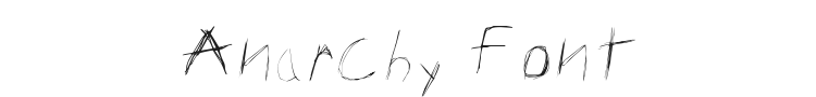Anarchy Font Preview