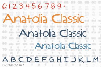 Anatolia Classic Font