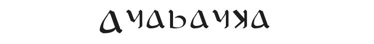 Anayanka Font Preview