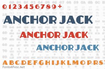 Anchor Jack Font