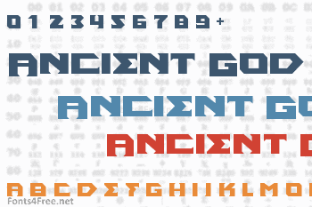 Ancient God Font