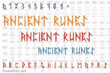 Ancient Runes Font