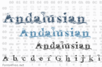Andalusian Font
