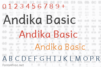 Andika Basic Font